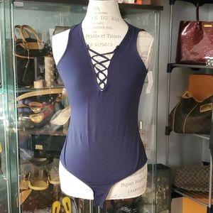 Lace Front NEW Bodysuit